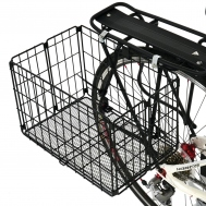 Bikes With Basket On Back Folding Rear Basket