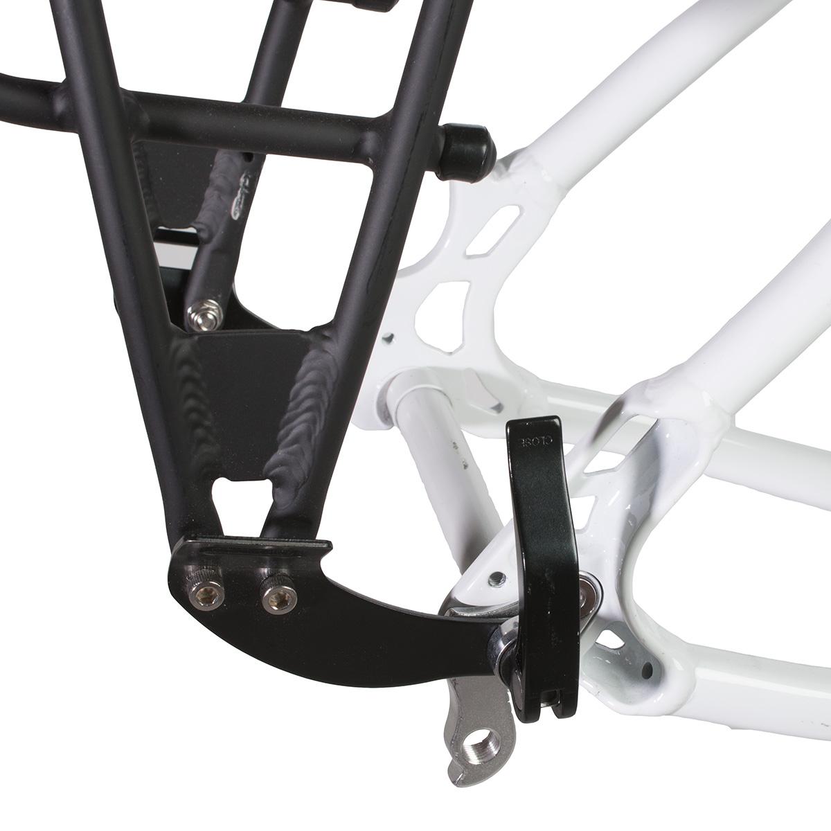 "Axiom Journey Rack Racks For Bikes 26/""//27.5/""//700C Rear Silver Eyelet"