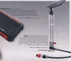 Axiom Exterminateair HV mini floor pump